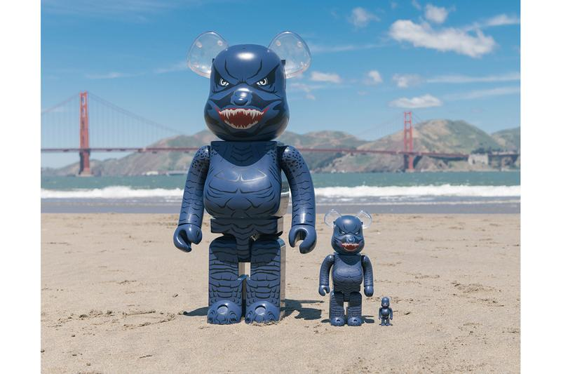 BAIT x Medicom Toy x 'Godzilla' 1000% BE@RBRICK release info king of the monsters warner bros toy collectibles bearbrick online retail info drop date pricing details