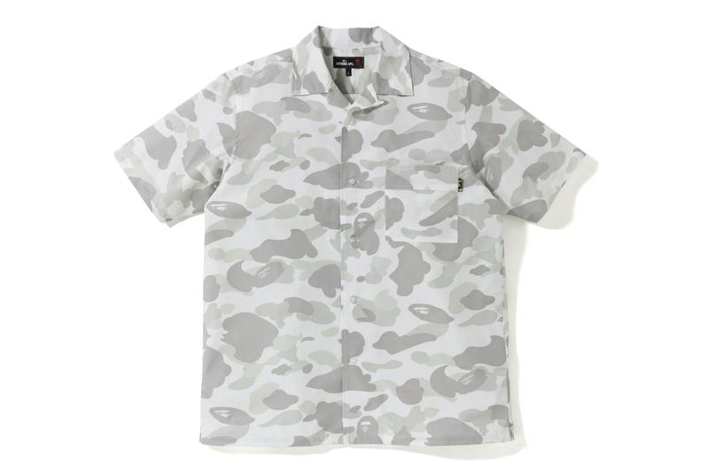 Mr. Bathing Ape Spring/Summer 2019 Collection bape a bathing ape ape head moustache button up shirts t-shirts shorts