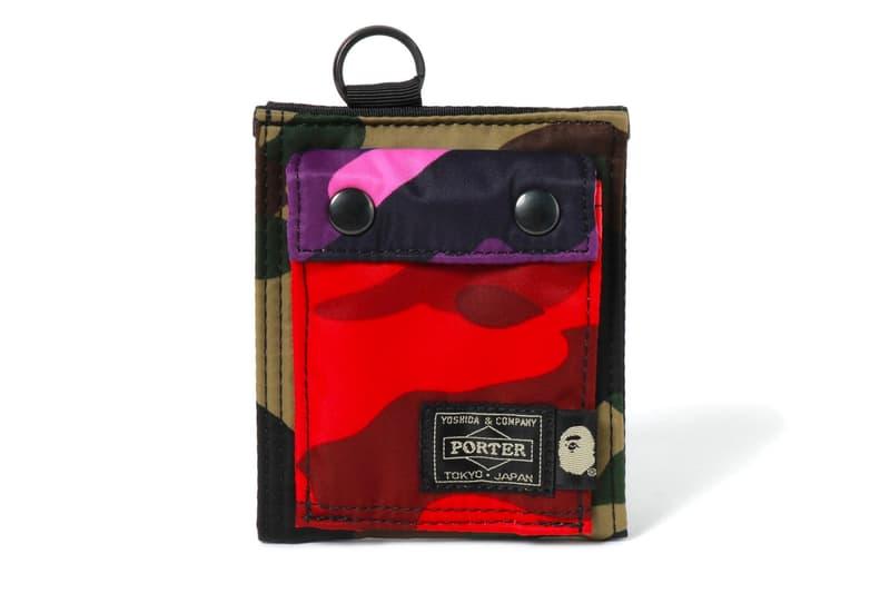 BAPE PORTER Mix Camo Capsule Bags Shoulder Pouch