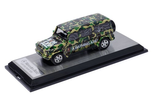 BAPE Releases Special Schuco Mercedes Miniature for Its 25th Anniversary