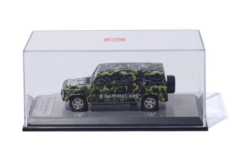 BAPE x SCHUCO BAPE XXV 25th Anniversary Mercedes toy cars collector item 1st camo print ape head a bathing ape