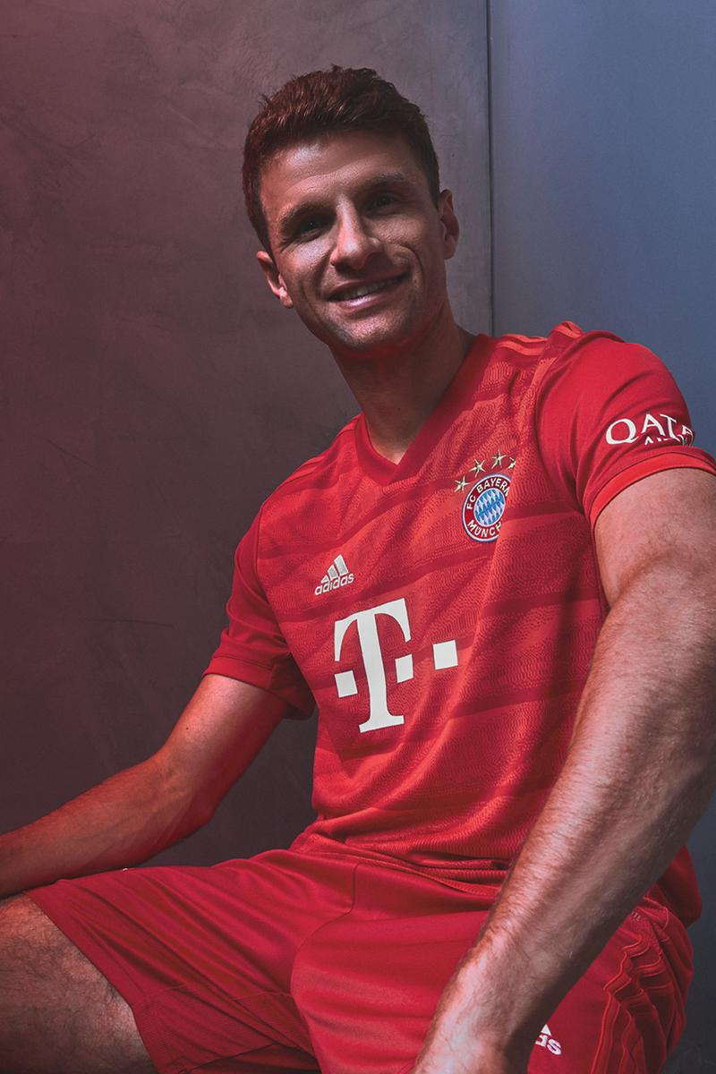 reputable site b7188 ad33e FC Bayern Munich 2019/20 Home Jersey by adidas | HYPEBEAST