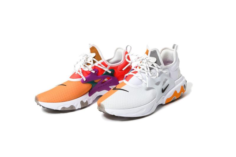 "BEAMS x Nike React Presto ""Dharma"" Collab Information drop release date buy colorway japan capsule shorts tee shirt"