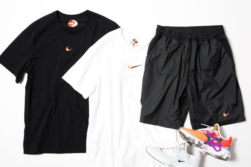 "BEAMS x Nike React Presto ""Dharma"" Collab Information drop release date buy colorway japan capsule shorts tee shirt"