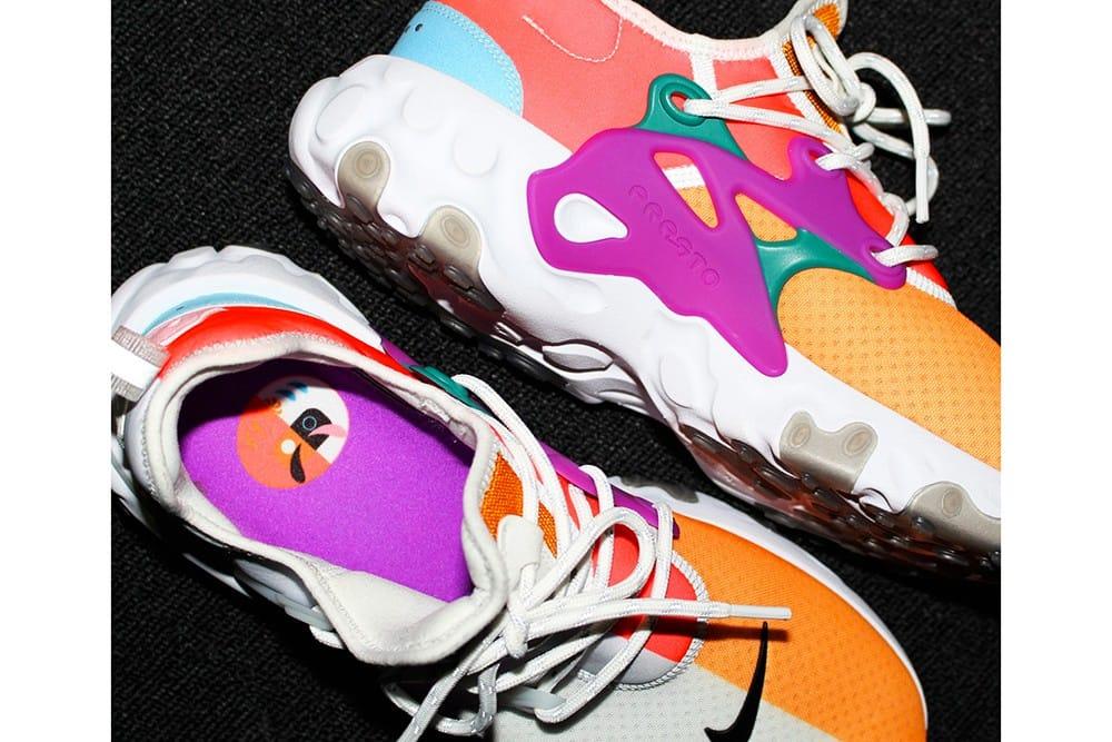 BEAMS x Nike React Presto First Look