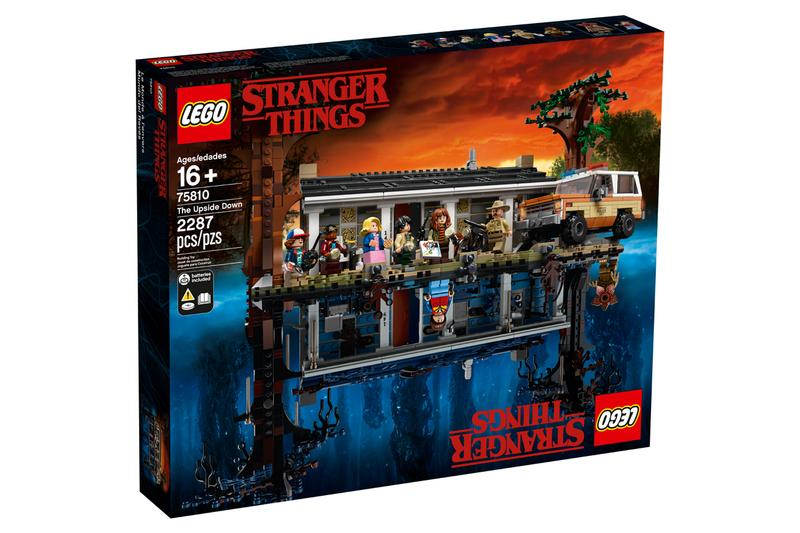 LEGO Stranger Things The Upside Down Set Info netflix streaming originals tv television retro collectible toy brick