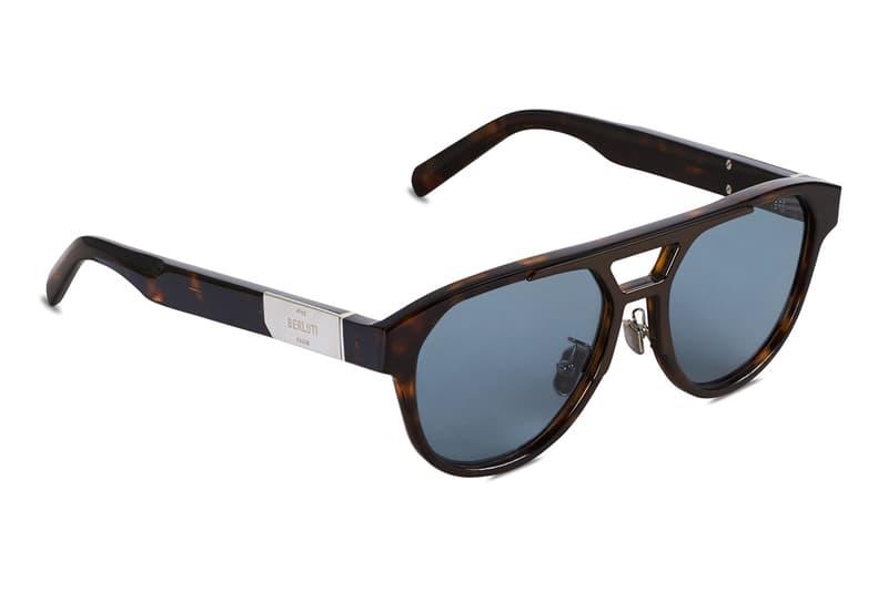 Berluti and Kris Van Assche Debut Eyewear Range fall winter 2019 fw19 glasses frames