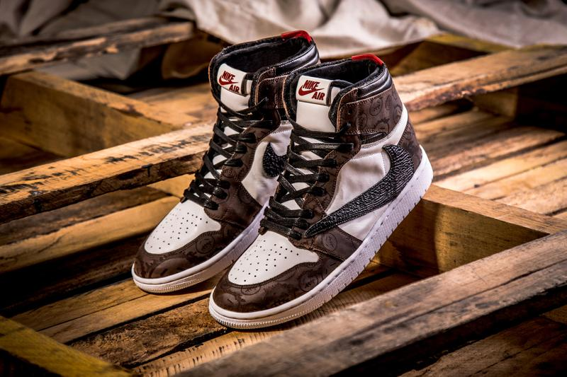 BespokeIND Travis Scott Nike SB Dunk & Air Jordan 1 Pack sneakers custom sneakers