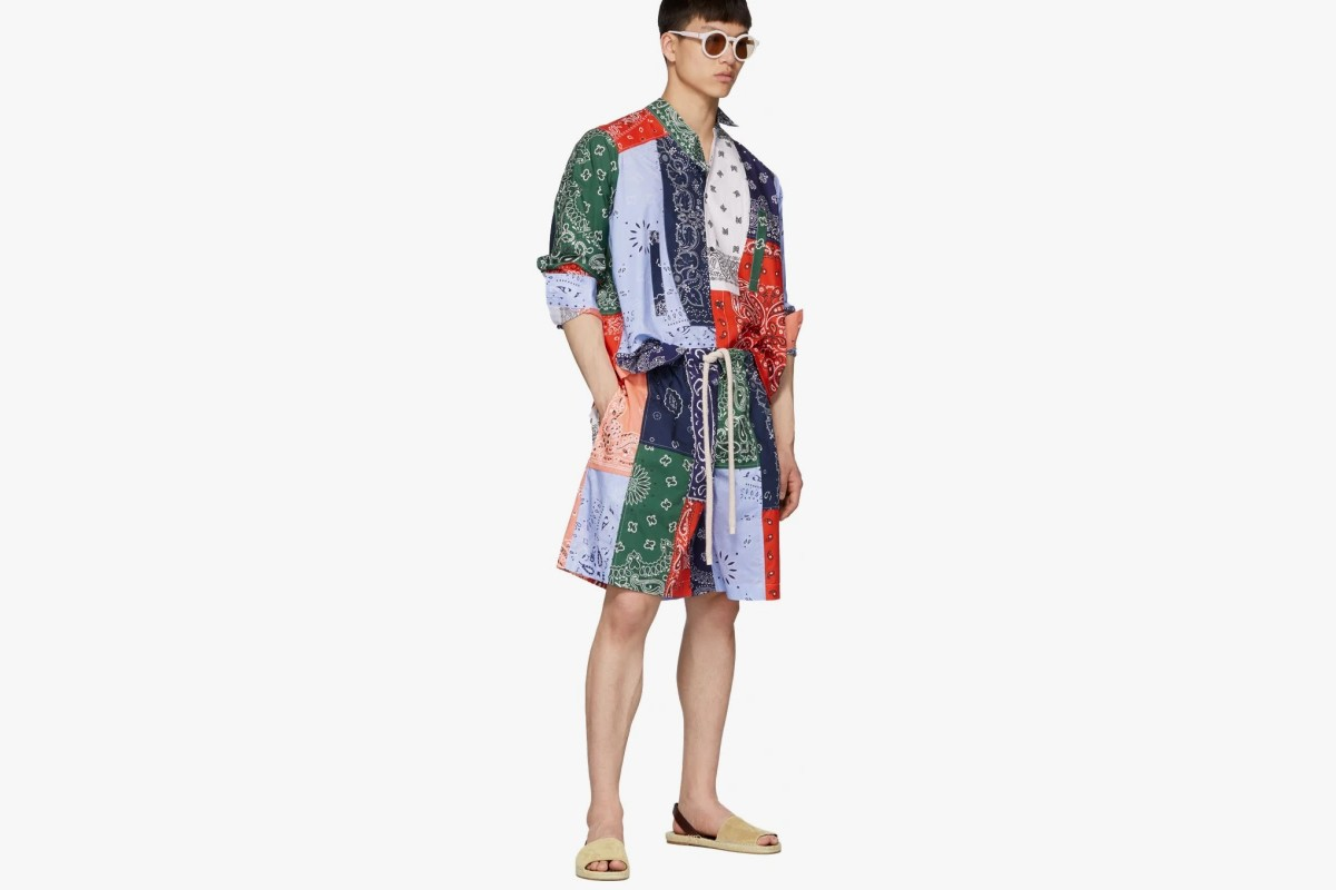 Best Bandana Items for Spring 2019 Jacket Shirt Pants Shorts Accessories Children Of The Discordance Valentino Sophnet. sacai Saint Laurent Rhude Loewe HTC LOS ANGELES Ann Demeulemeester
