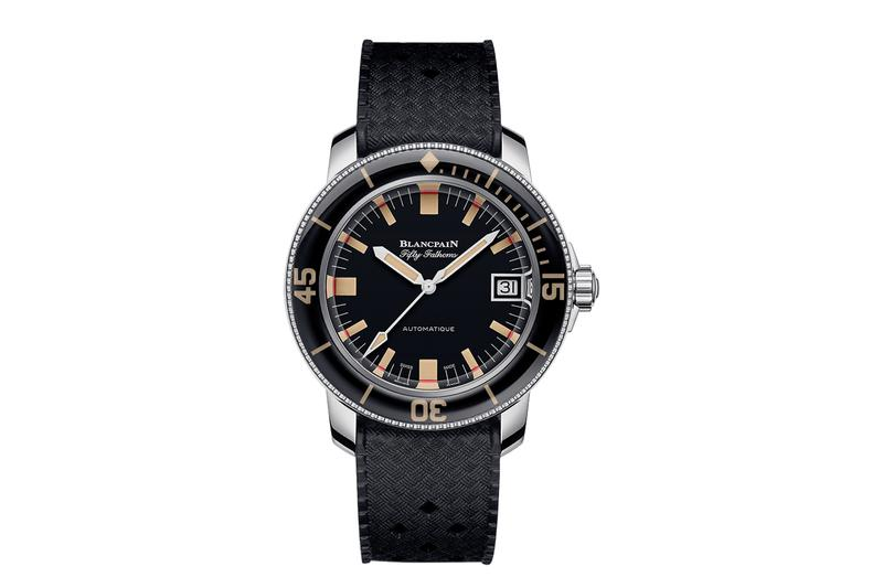 "Blancpain Re-Introduces the Fifty Fathoms ""Barakuda"""
