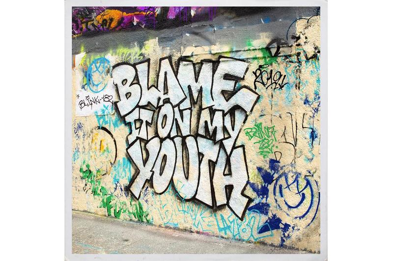 blink-182 Blame It On My Youth Stream travis barker mark hoppus tom delonge