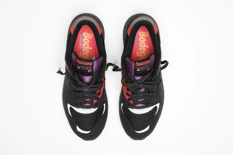 "Bodega x Saucony Azura ""Lucky 13"" 13th anniversary sneaker archives 1998"