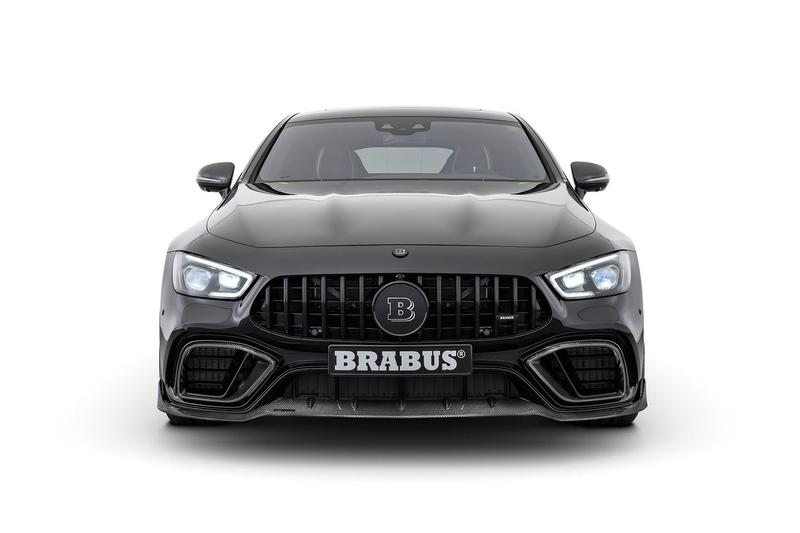 Brabus Equips Mercedes-AMG GT 63 S With 800 BHP & Carbon Fiber Bodykit