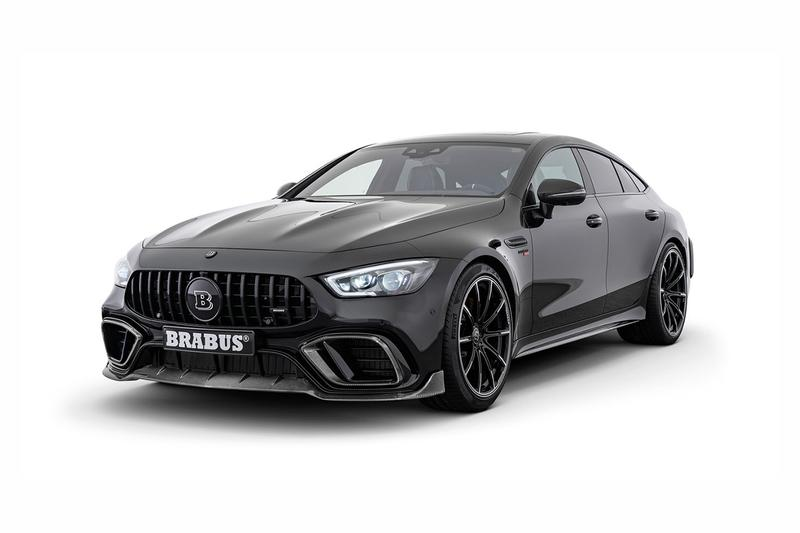 "Mercedes-AMG GT 63 S 4MATIC+ Brabus 800 Automotive Car Engineering Official Custom Monoblock Z ""PLATINUM EDITION"" Top Marques Monaco 2019"