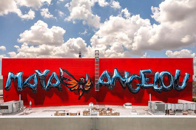 Artists Have Transformed a Los Angeles High School With Inspirational Maya Angelou Murals
