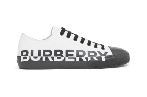 BURBERRY's New Low-Top Kicks Flaunt Giant Logos