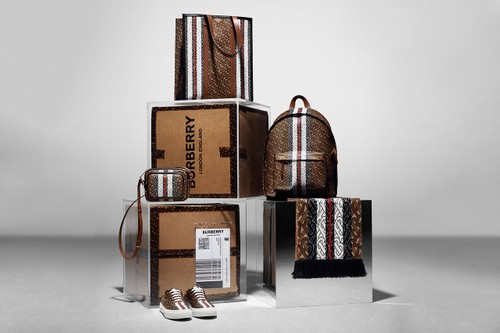 Burberry Drops Logo-Rich Monogram Collection Accessories