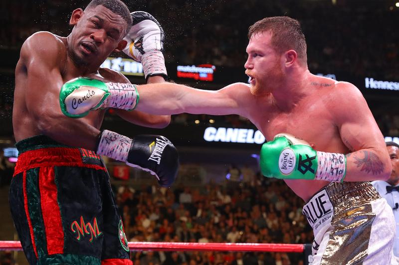 Image result for canelo beats jacobs