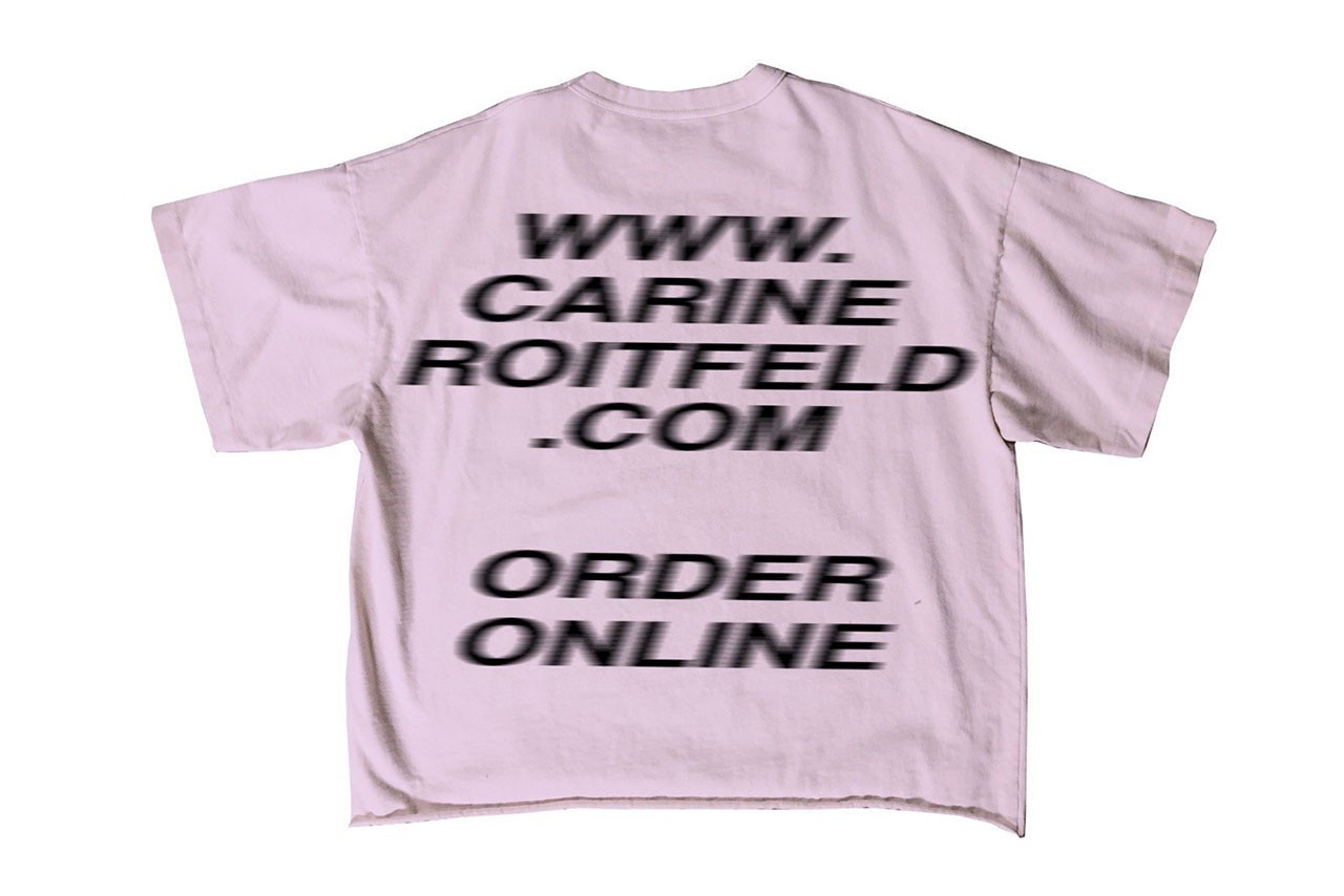 Carine Roitfeld x YEEZY T-Shirt Signing Pop-Up perfume launch new york soho city may 5 2019 signed lime purple colorway free kanye west