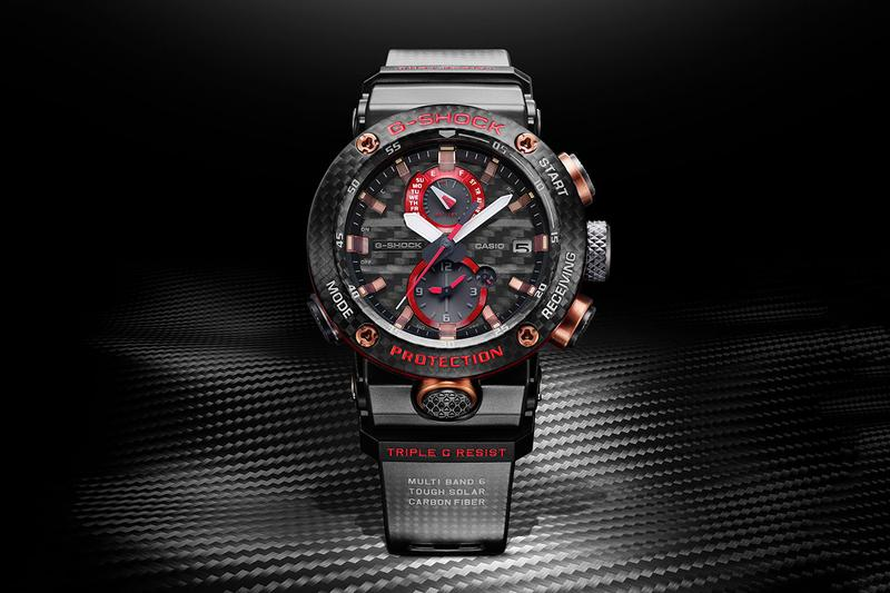 G-SHOCK casio Drops Limited GRAVITYMASTER GWRB1000X-1A watch timepiece 1000 usd price release retail carbon bluetooth