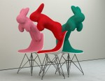Chris Labrooy Toys With the Classic Eames Chair in Latest Art Series