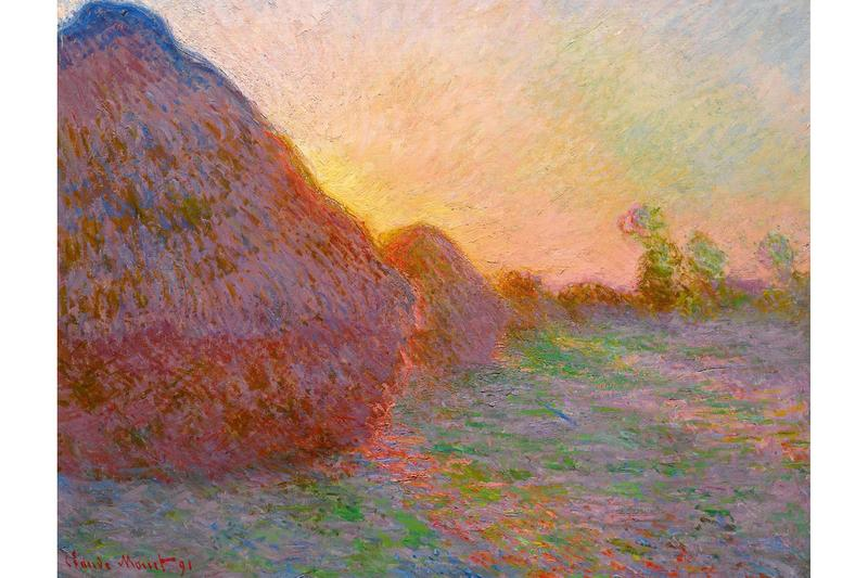 claude monet meules painting sothebys auction record impressionist artwork