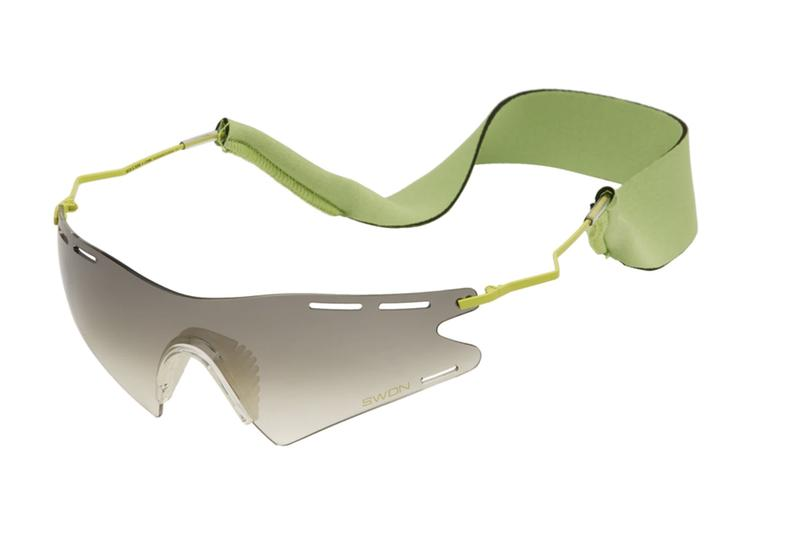 CMMN SWDN Ace & Tate Le Monde Sunglasses Release SSENSE Lime green Flame red Fog black