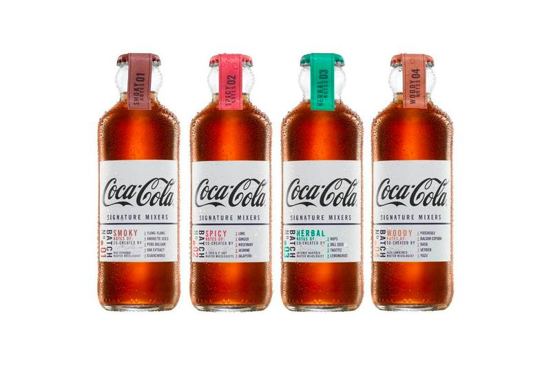 Coca-Cola Signature Mixers Release Smoky Notes Max Venning Spicy Notes Adriana Chía Pippa Guy Herbal Notes Antonio Naranjo Mixers Woody Notes Alex Lawrence