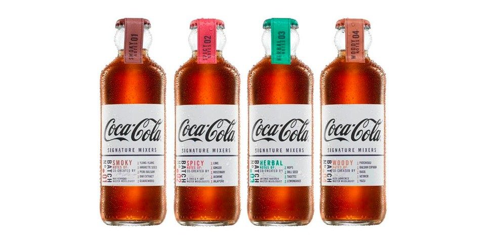 Coca-Cola Introduces New Signature Mixers Series