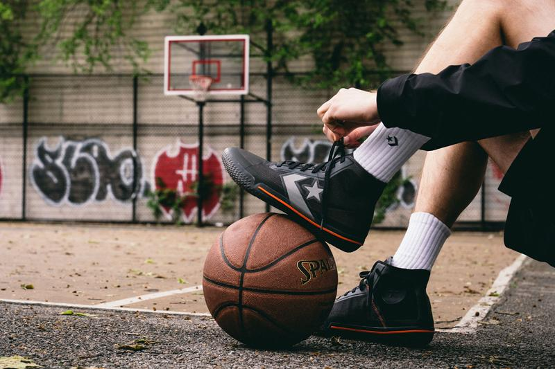 Converse All Star Pro BB Black & White On-Feet court look details closer look release date buy basketball