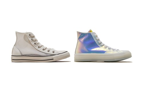 Converse Upgrades Chuck Taylor With Iridescent and See-Through Iterations