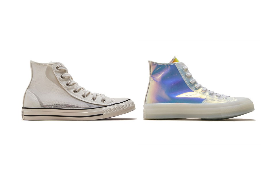 73ca565191f Converse Chuck Taylor in Iridescent and Mesh | HYPEBEAST