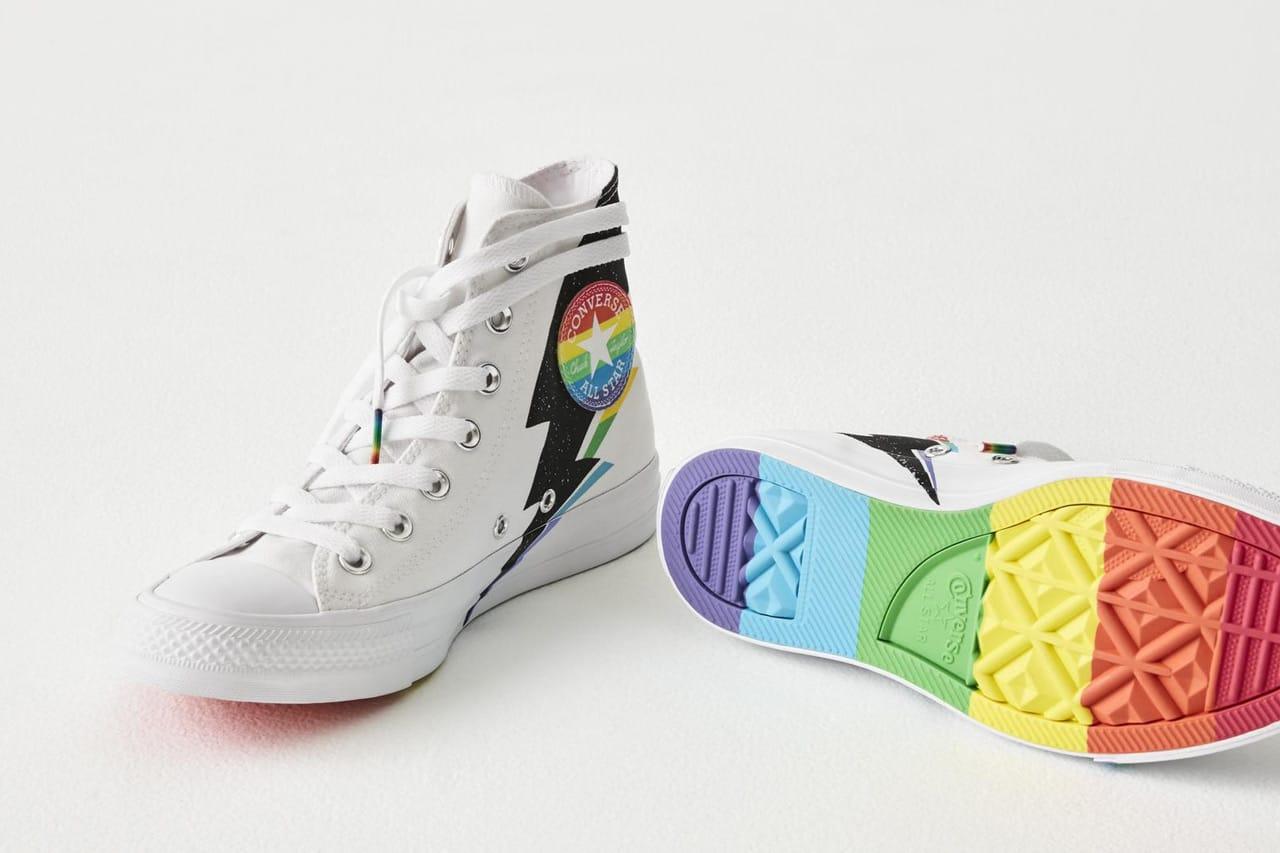 Converse Launches Colorful 2019 Pride