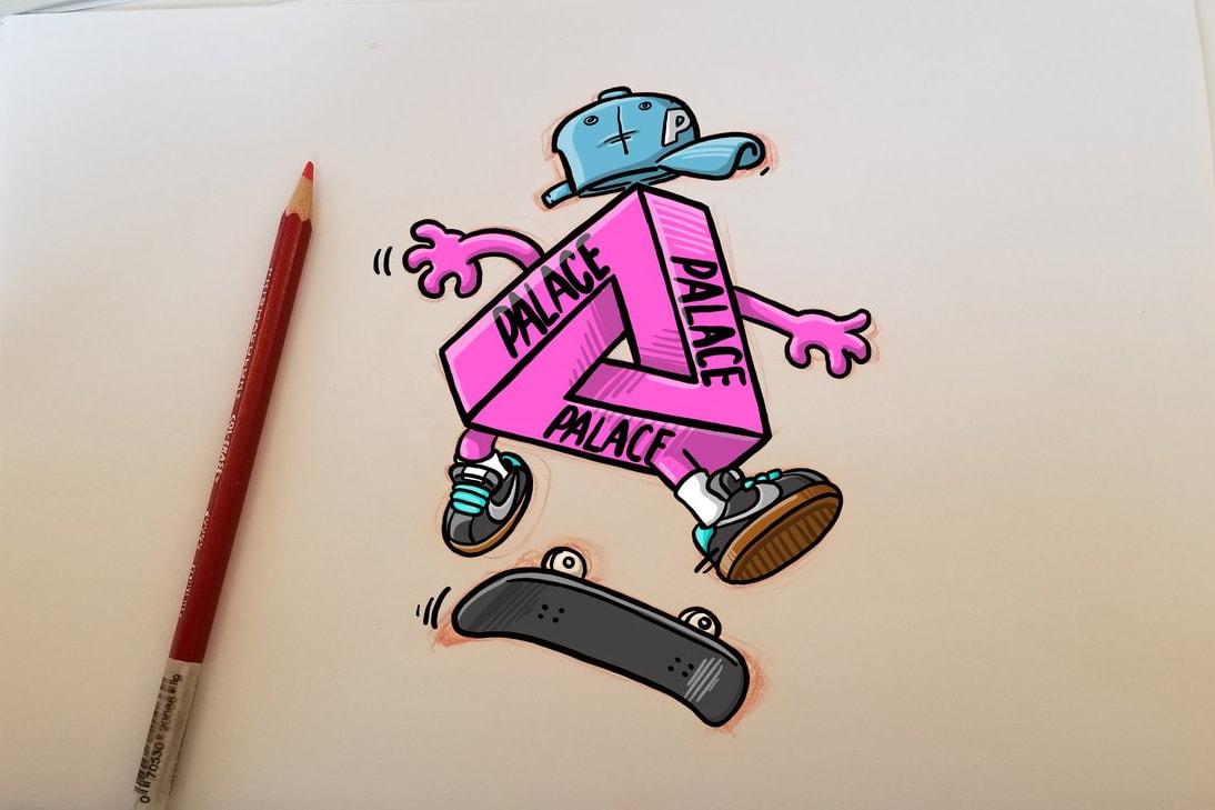 david park pen and paper illustration digital artwork drawings