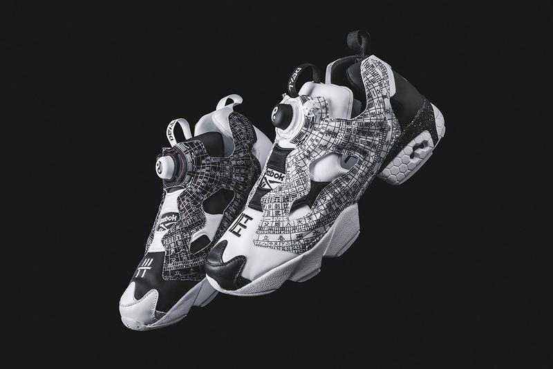 "DEAL x Reebok Instapump Fury ""Feng Shui Compass"" collab release date info pattern print colorway beijing DV8211"