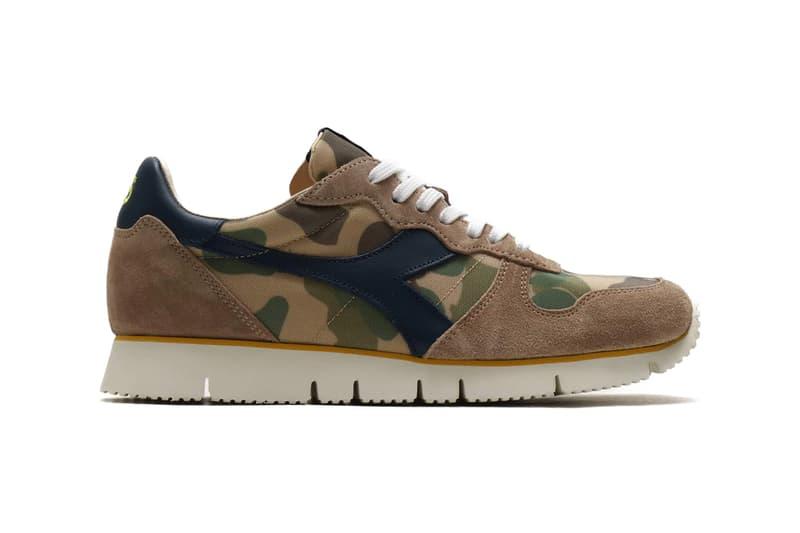 diadora camaro camo camouflage colorway spring 2019 mcnairy silver mink sneaker release