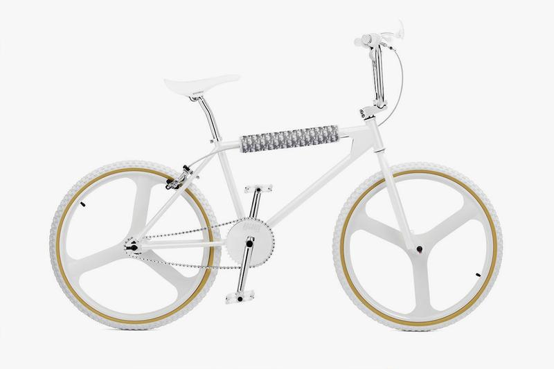 Dior & Bogarde Come Together Once Again on a White Tone BMX Bike (UPDATE)