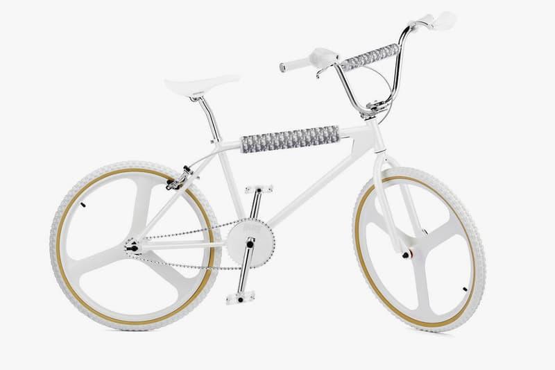 Dior Borgard BMX Bike White First Look Kim Jones Monogram