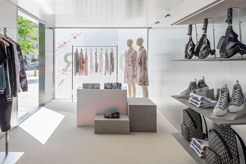 Dior Pre-Fall 2019 Kim Jones Hijame Soroyama Collection Pop Up Stores United States of America USA CityCenterDC Jewel Court South Coast Plaza Costa Mesa California Toronto Canada North