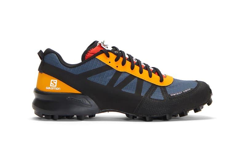 District Vision x Salomon X District Vision DV Mountain Raver Sneakers Contagrip® MA sole unit Technical Hiking Shoe Sneaker Release Information Collaboration Where to Buy LN-CC Drop