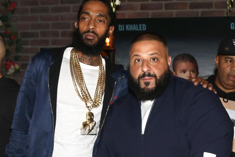 "DJ Khaled Announces Nipsey Hussle-Assisted Track ""Higher"" father of asahd"