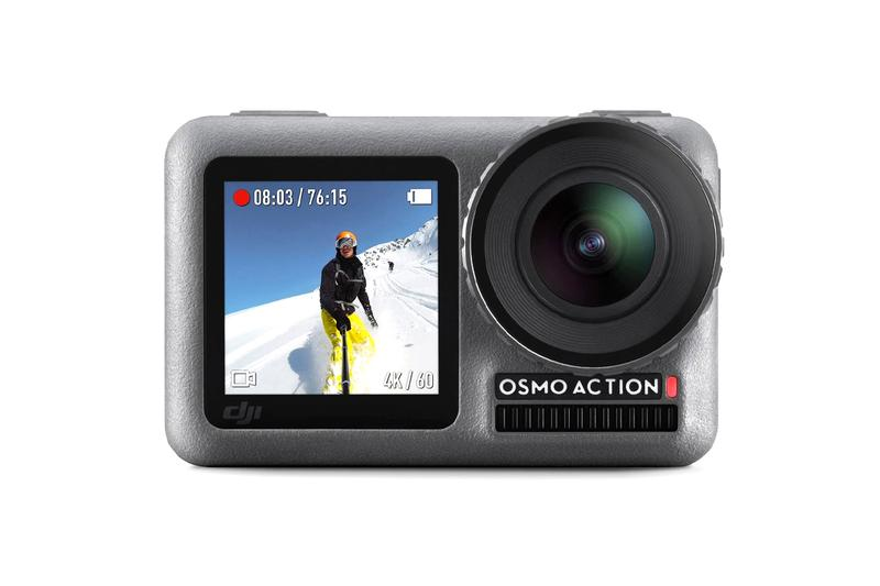 DJI Osmo Action Camera Release Info outdoor wilderness active activity sports sea land sky recording video photography photo shooting tech technology gopro