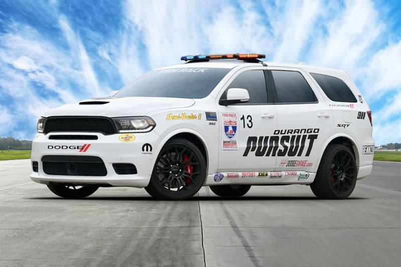 Dodge Durango SRT Pursuit Concept speed One Lap of America drag race speed hellcat fiat Chrysler