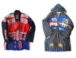 Dr. Romanelli Splices Mitchell & Ness Jerseys With Japanese Boro for Bespoke Kimono Jackets
