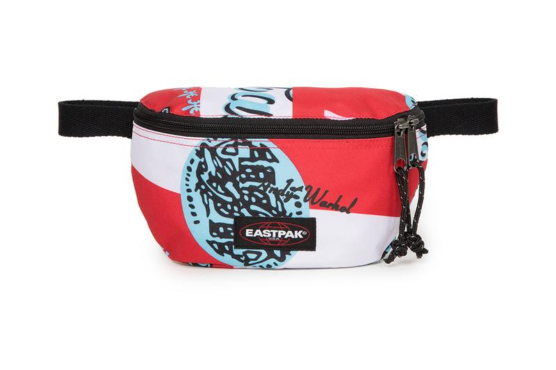 Eastpak Andy Warhol Capsule Collection SS19 Spring Summer 2019 Bags Accessories Branded Printed Colored Campbell's Soup Can 1965 backpack waist bag duffle wheeled luggage