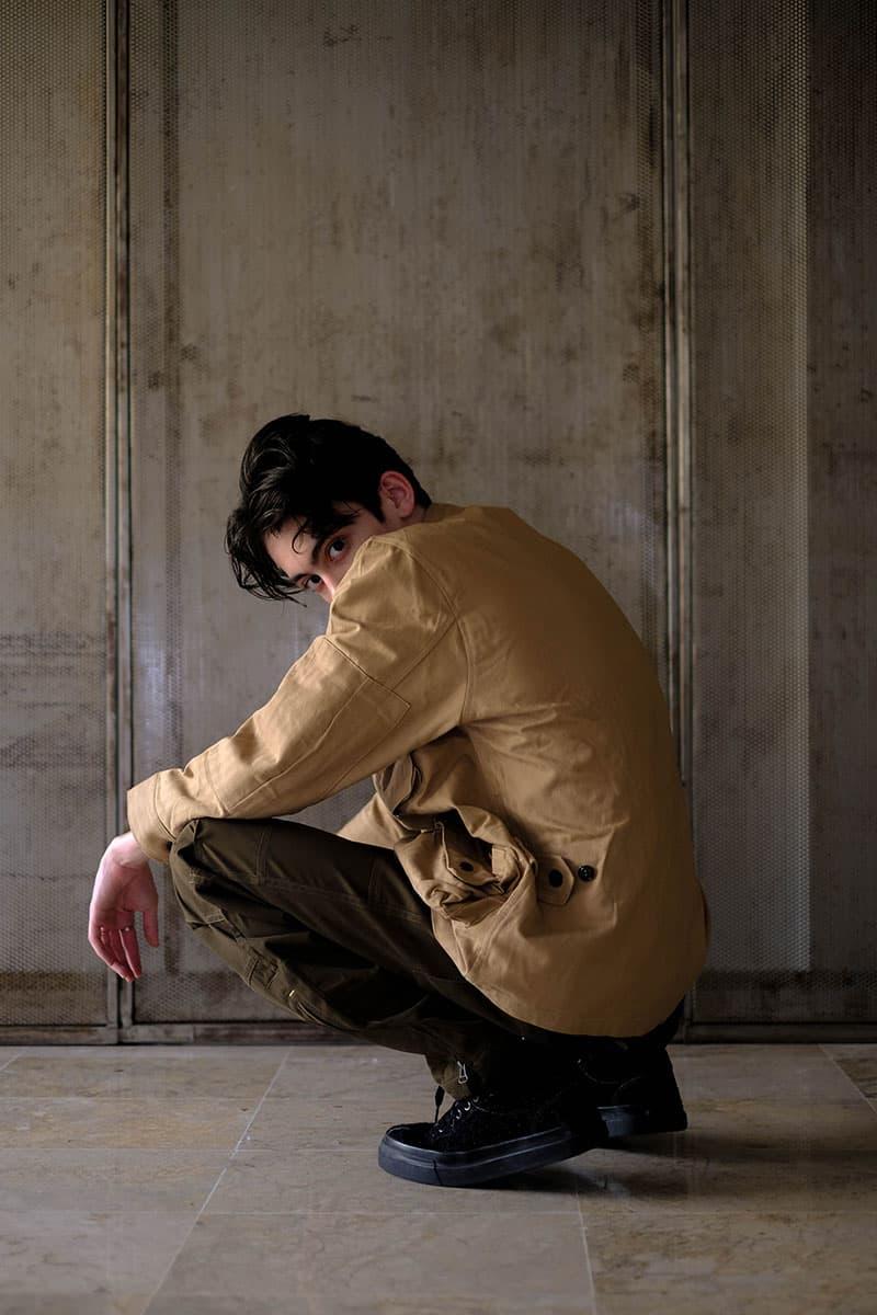 "Elhaus SS19 ""Gentle Metal"" Editorial Lookbook indonesian brand Sherdynan Sulthan (@sherdysher) kimono menswear street fashion utilitarian military 3L fabrics"