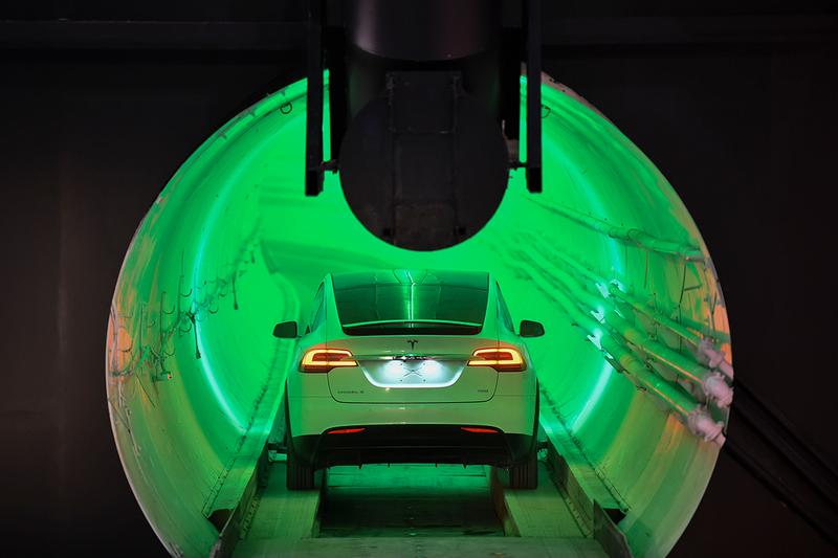 Elon Musk's Boring Company Wins a $48.7 Million USD Contract in Las Vegas