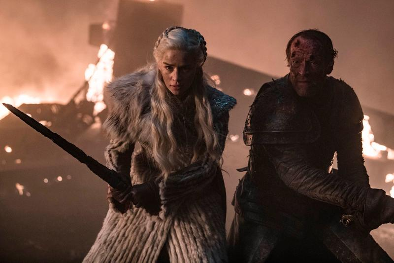 Emilia Clarke Says Penultimate 'GoT' Episode Will Be Huge game of thrones episode 5 hbo Daenerys Targaryen