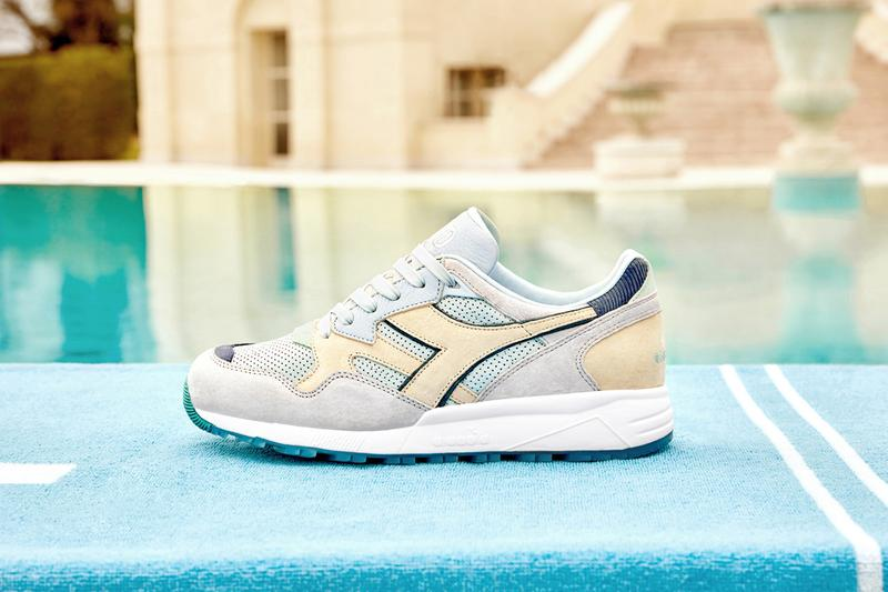 diadora end clothig n9002 n 9002 lido sneaker mediterranean blue colorway release