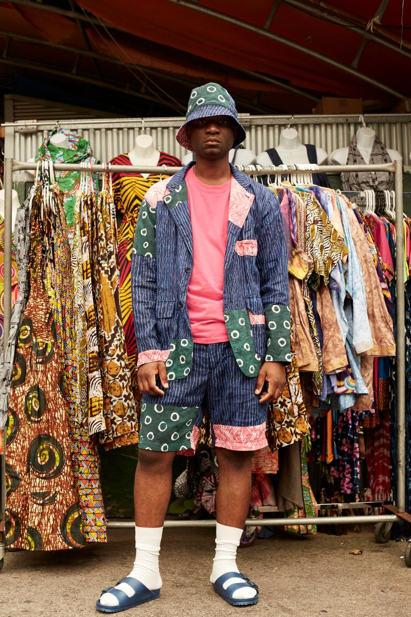 Engineered Garments x Post-Imperial Spring Summer 2019 SS19 Collaboration Collection Drop Release Information Lookbook Malcolm Shabazz Market Harlem New York Nigerian American Menswear Nepenthes Tokyo